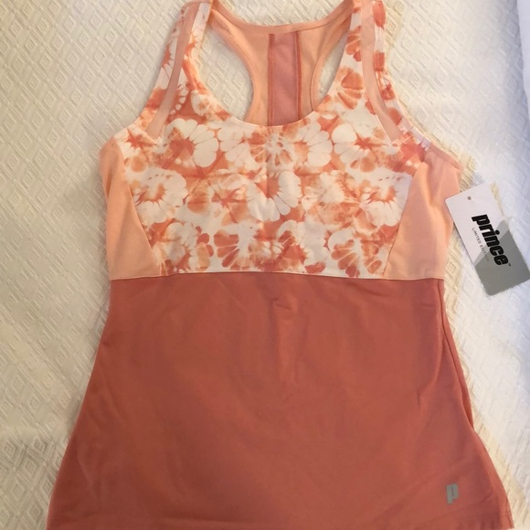 Prince Tops - Dusty Coral Tennis Tank